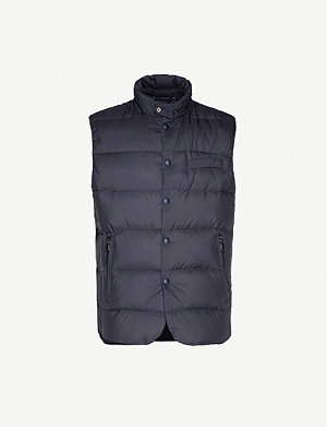 RALPH LAUREN PURPLE LABEL Whitwell buttoned shell-down gilet