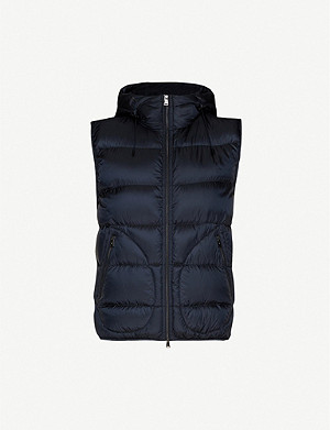RALPH LAUREN PURPLE LABEL Mackay sleeveless shell-down jacket