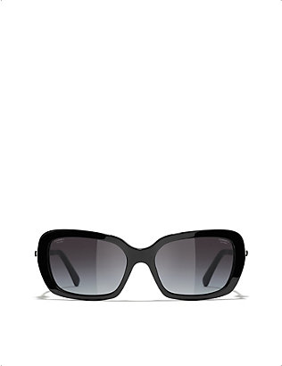 CHANEL: CH5427H acetate square-frame sunglasses