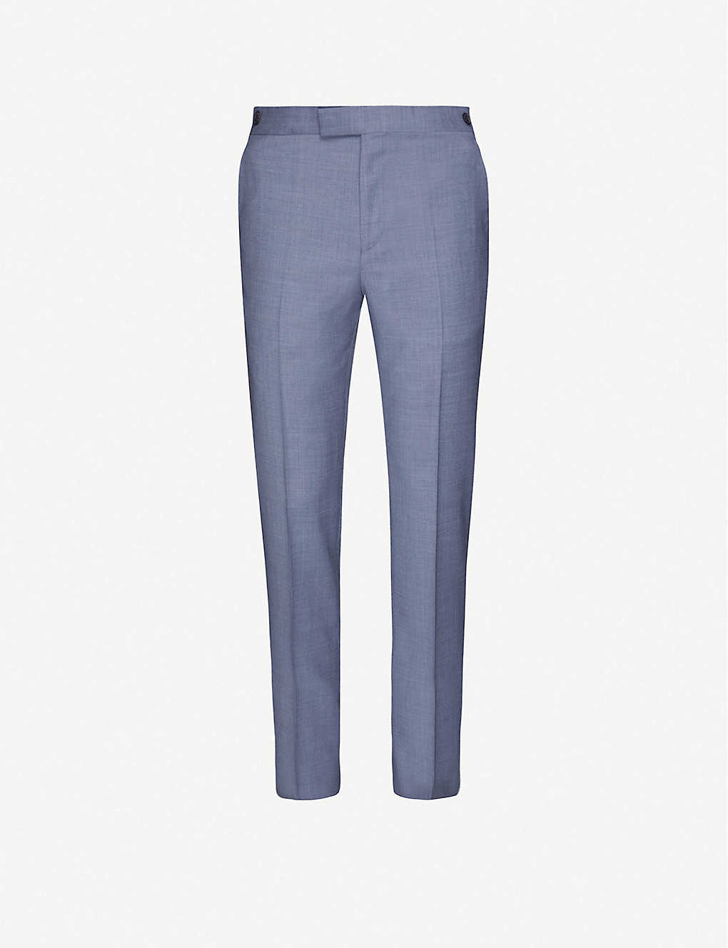 REISS: Climate slim-fit wool trousers