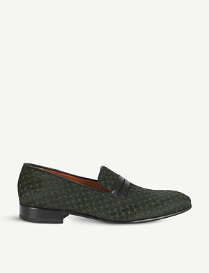 MALONE SOULIERS Miles woven loafers