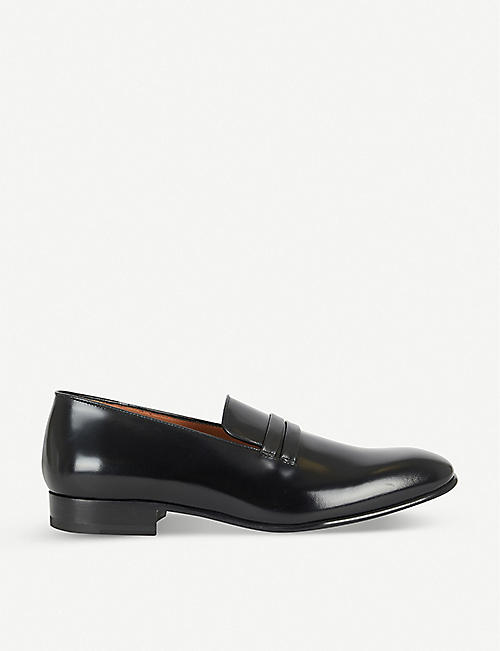 MALONE SOULIERS: Miles leather loafer