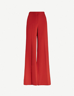 THEORY Terena wide-leg linen trousers
