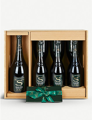 CHAMPAGNE: Salon Le Mesnil Oenotheque champagne set of 7