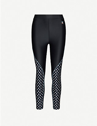 P.E NATION: Dominion sports-jersey leggings