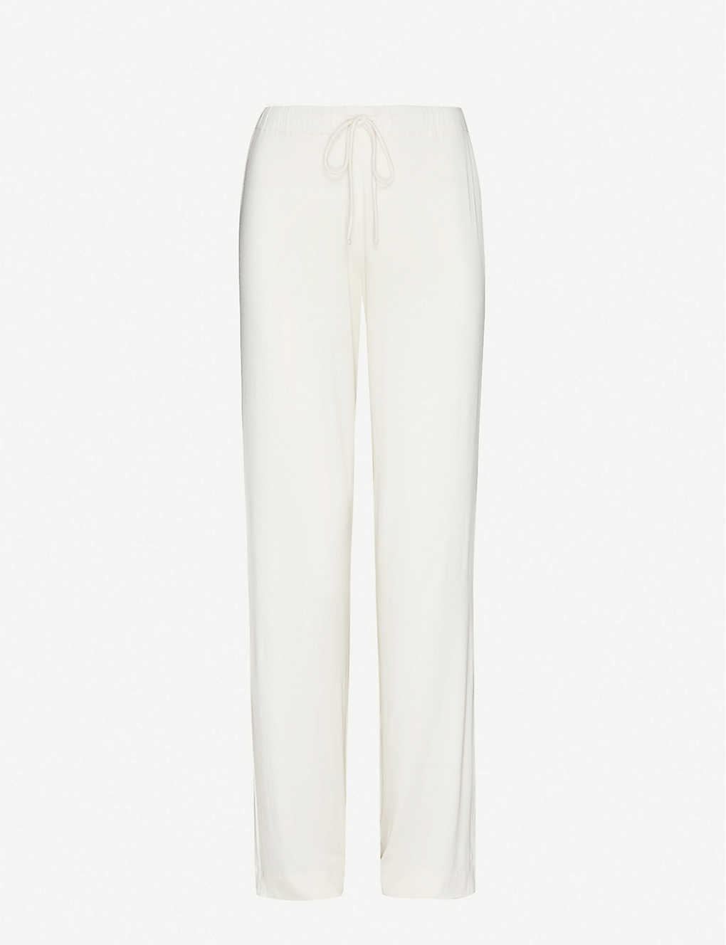 MAX MARA: Dolce straight mid-rise stretch-jersey trousers