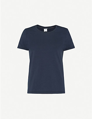 MAX MARA: Vagare stretch-cotton T-shirt