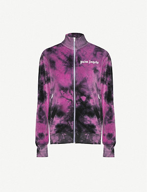 PALM ANGELS Tie dye chenille jacket