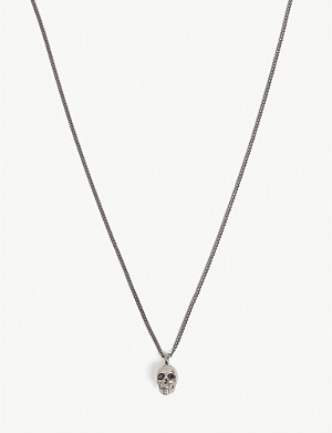 NORTHSKULL Atticus skull pendant necklace