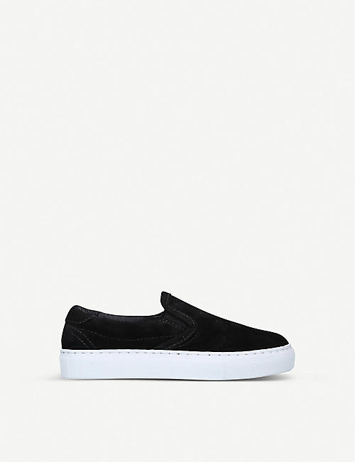 DIEMME: Garda suede slip-on shoes