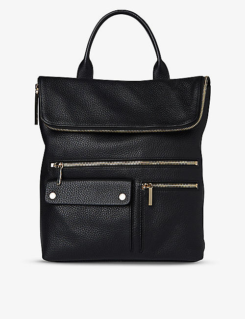 WHISTLES: Farrow leather backpack
