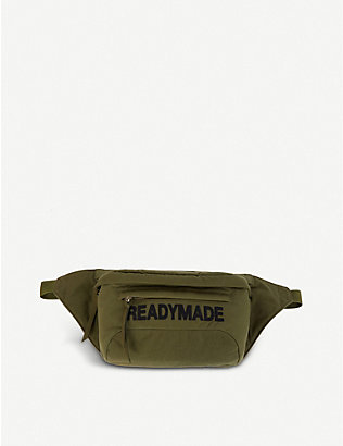 READYMADE: Oversized cotton cross-body bag