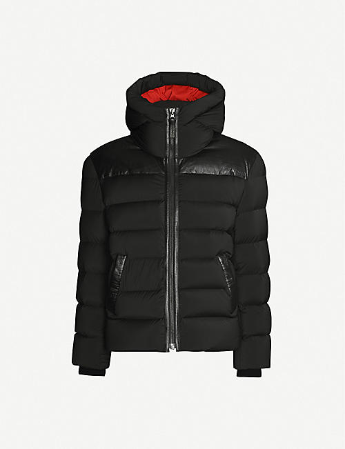 MAURICE BENISTI Danforth shell-down puffer jacket