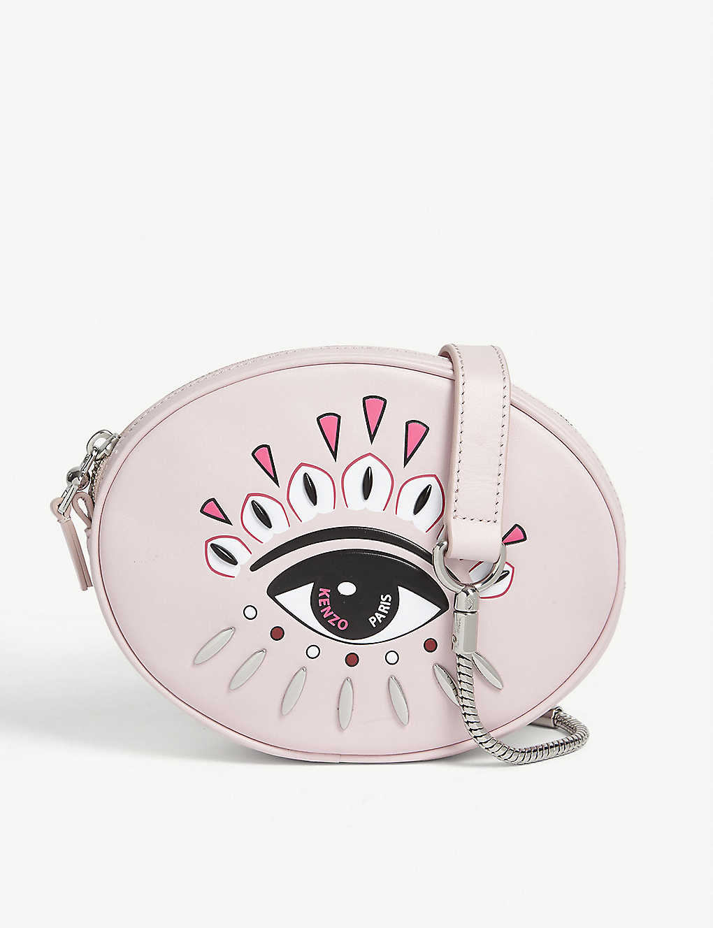 KENZO: Kontact eye leather belt bag
