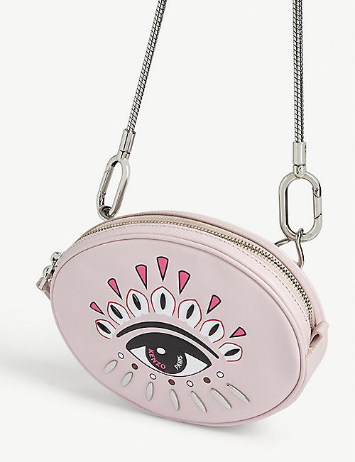KENZO Kontact eye leather belt bag