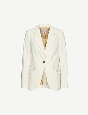 BAUM UND PFERDGARTEN Beyonce slim-fit single-breasted blazer