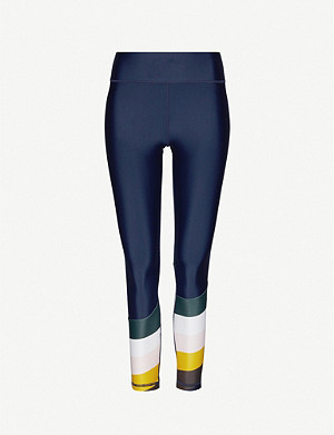 THE UPSIDE Sunrise panelled stretch-jersey leggings