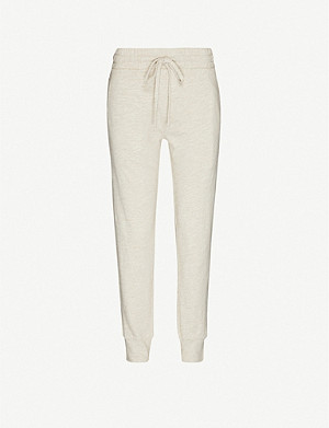 THE UPSIDE Long Island cotton-jersey jogging bottoms