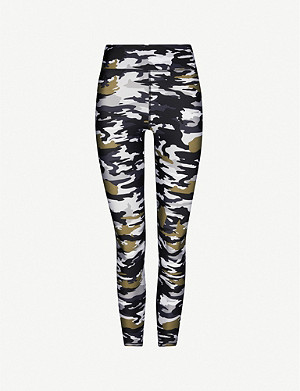 THE UPSIDE Cami camouflage-print stretch-jersey leggings