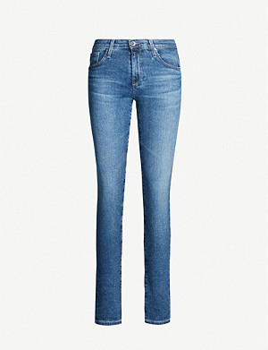 AG Prima straight high-rise jeans
