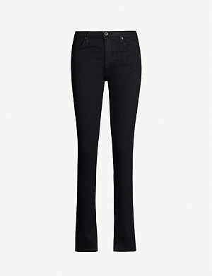 AG Harper straight high-rise jeans