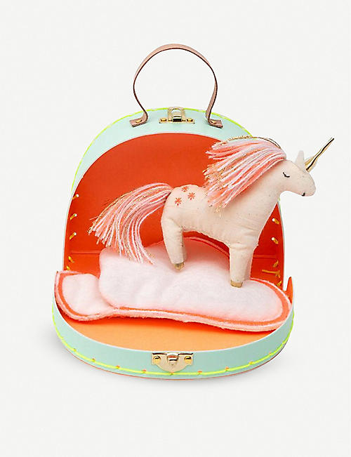 MERI MERI Mini unicorn suitcase and toy