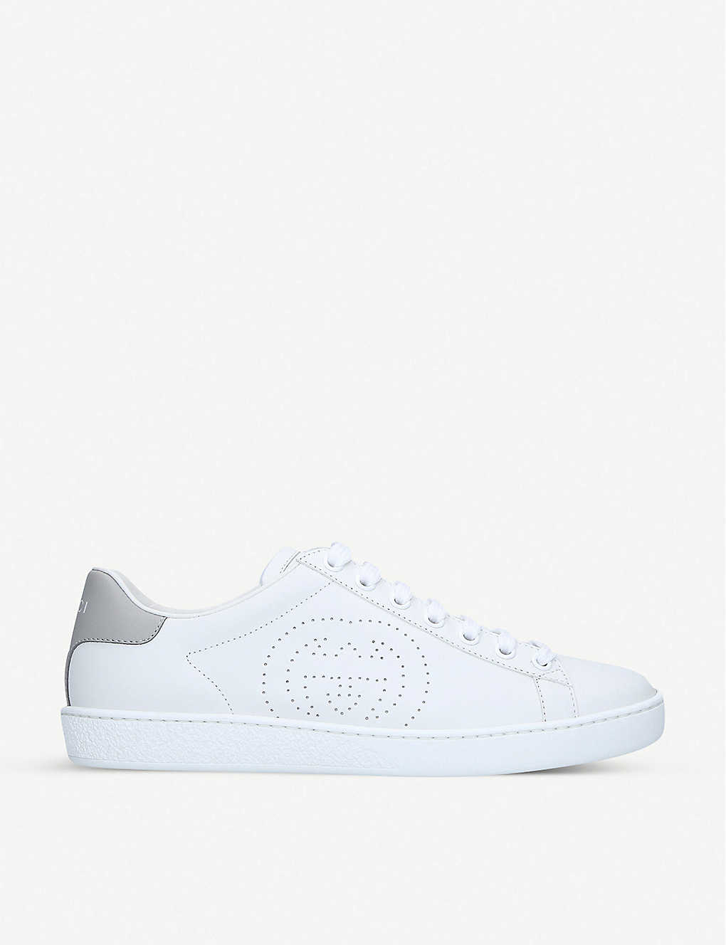 GUCCI: New Ace interlocking-G leather trainers