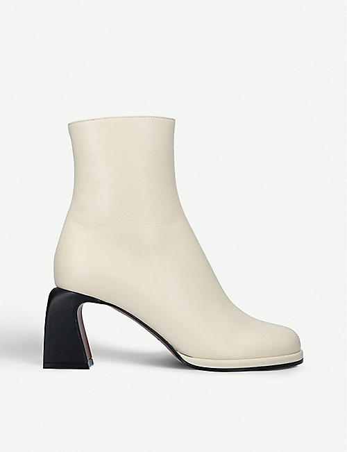 MANU ATELIER: Chea leather ankle boots