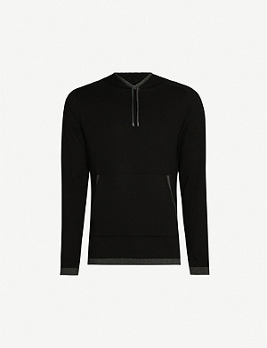 ZIMMERLI Cotton and cashmere-blend hoody