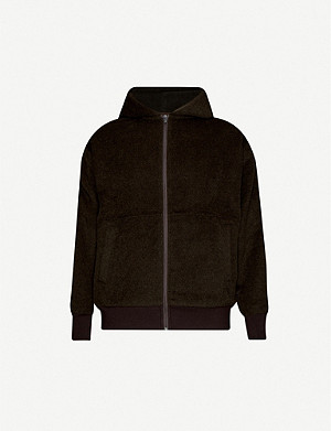 THE INOUE BROTHERS Relaxed-fit alpaca and wool-blend hoody