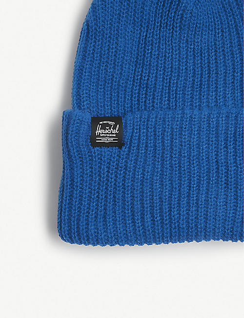 HERSCHEL SUPPLY CO Quartz rib-knit beanie