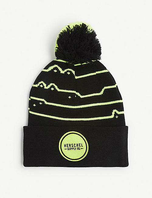 HERSCHEL SUPPLY CO Sepp striped print beanie