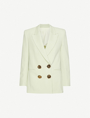 PETAR PETROV Jimi double-breasted wool blazer