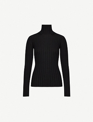 PETAR PETROV Turtleneck merino wool jumper