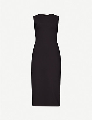THE ROW: Devi sleeveless stretch-jersey midi dress