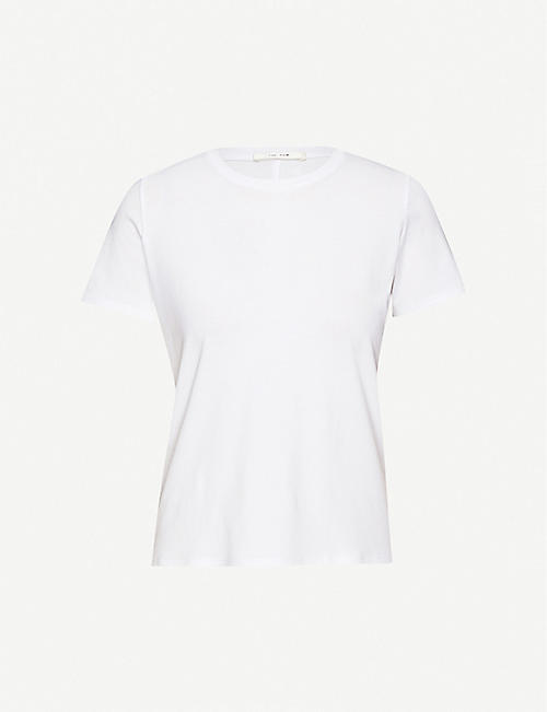 THE ROW: Wesler cotton-jersey T-shirt