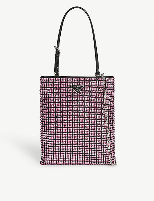PRADA Crystal mini bag