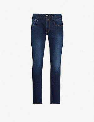 REPLAY Anbass slim-fit skinny stretch-denim jeans