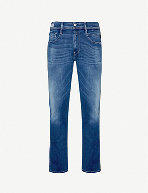 REPLAY Anbass slim jeans cotton-blend denim jeans