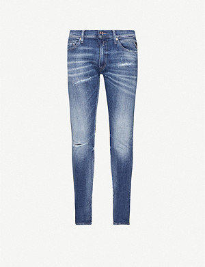 REPLAY Jondrill skinny stretch-denim jeans