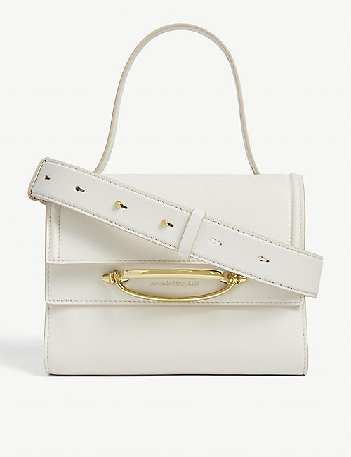 ALEXANDER MCQUEEN Story leather tote bag