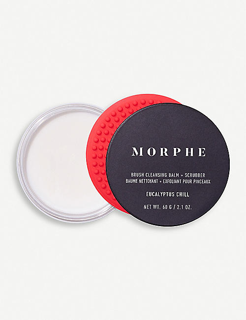 MORPHE: Brush Cleansing Balm and Scrubber set