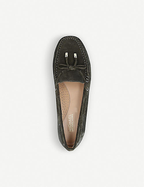 MICHAEL MICHAEL KORS Sutton suede moccasin loafers
