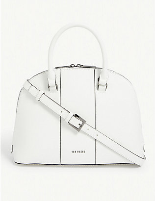 TED BAKER: Baylley leather bowling bag