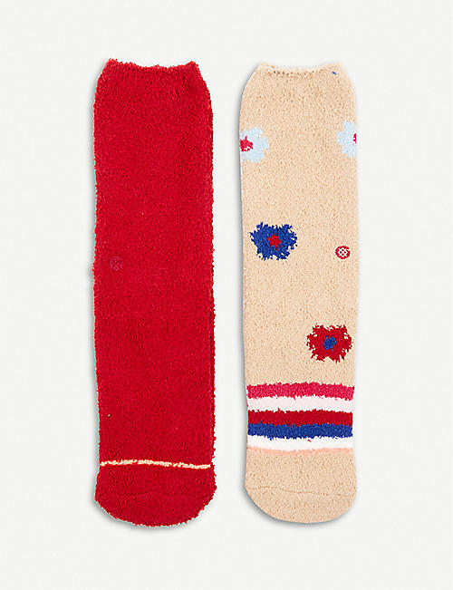 STANCE: Cozy woven socks set of two
