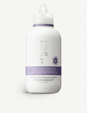PHILIP KINGSLEY Pure Blonde Booster Colour-Correcting weekly shampoo 250ml