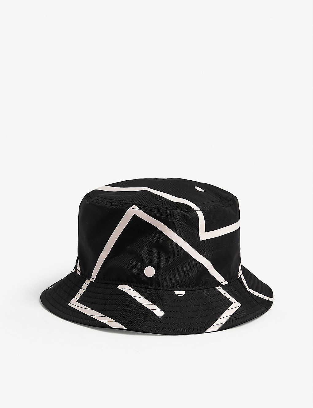 ACNE STUDIOS: Pansy Face bucket hat