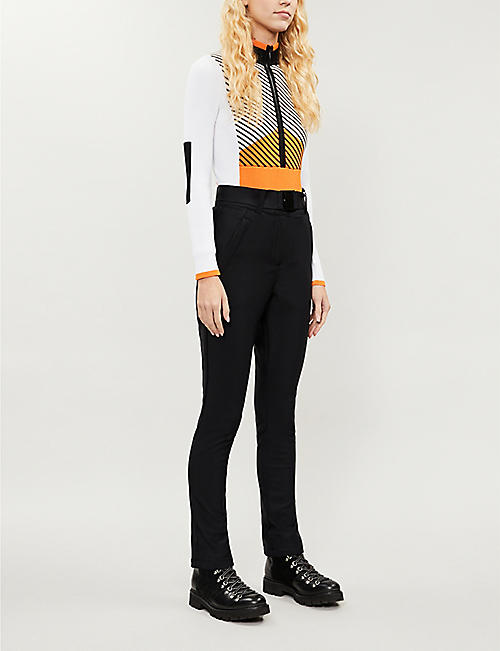 TOPSHOP Panelled knitted body