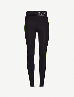 TOPSHOP Sno thermal stretch-jersey leggings