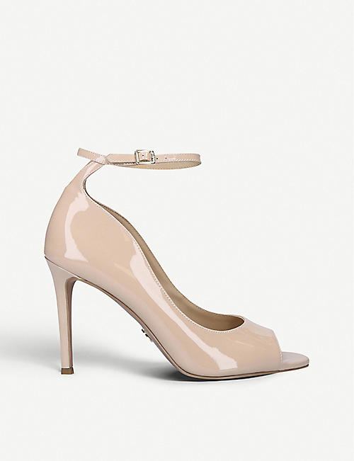MICHAEL MICHAEL KORS Danielle open-toe heeled leather courts